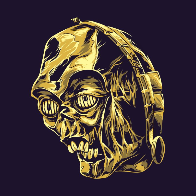 C-3PO BEAST Men's Baseball Triblend T-Shirt by zakiihamdanii's Artist Shop