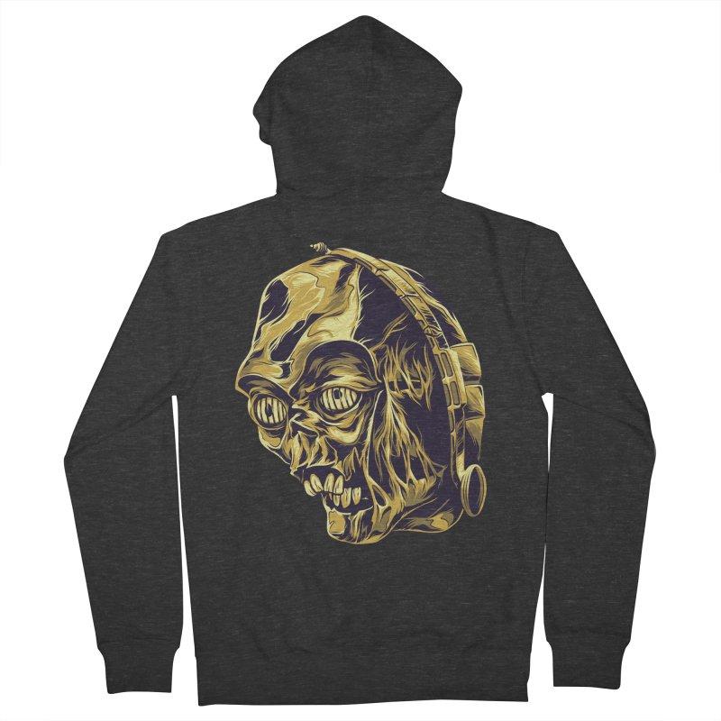 C-3PO BEAST Men's Zip-Up Hoody by zakiihamdanii's Artist Shop