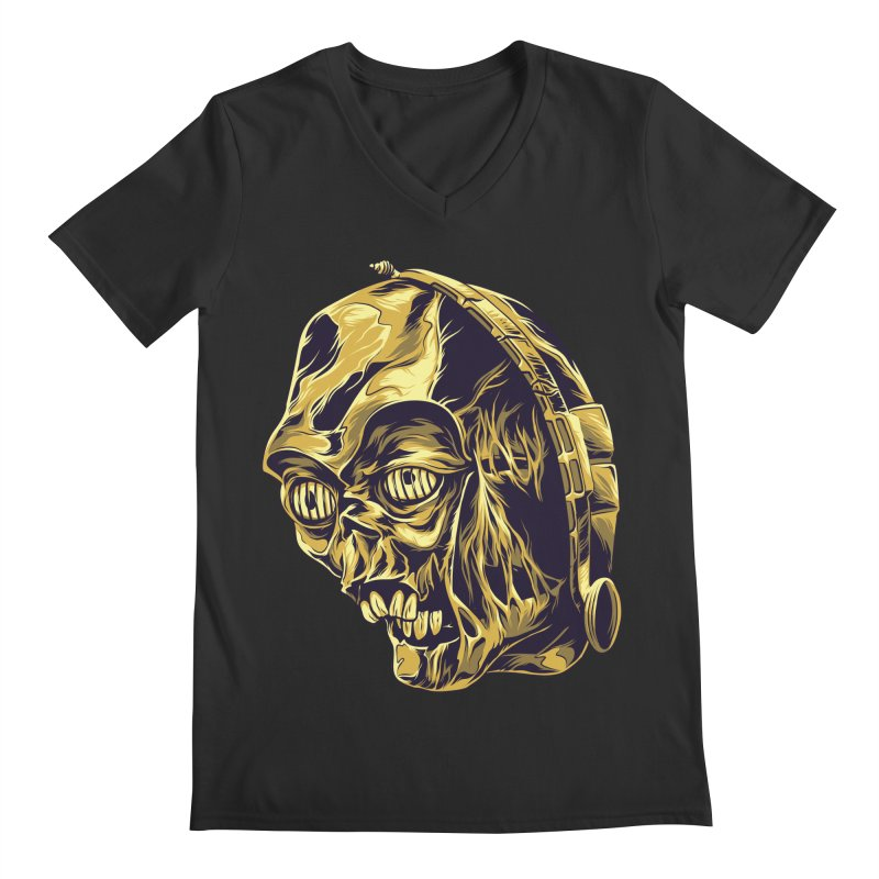 C-3PO BEAST Men's V-Neck by zakiihamdanii's Artist Shop