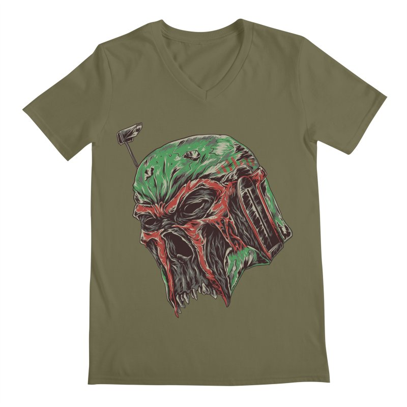 BOBA BEAST Men's V-Neck by zakiihamdanii's Artist Shop