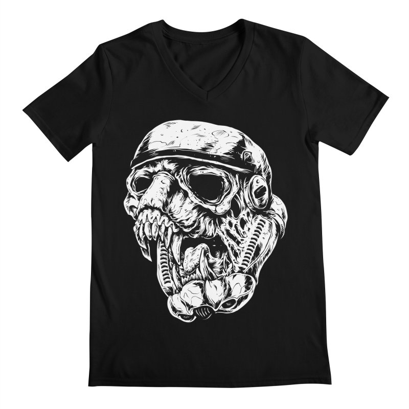 Storm Beast Trooper Men's V-Neck by zakiihamdanii's Artist Shop