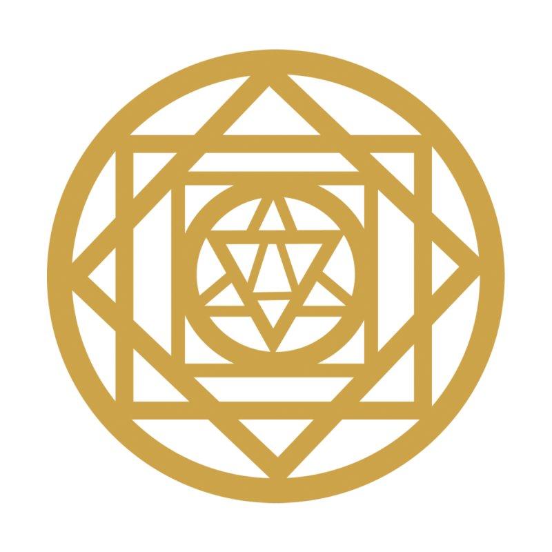 Mandala (white) by zakiya noel's Artist Shop