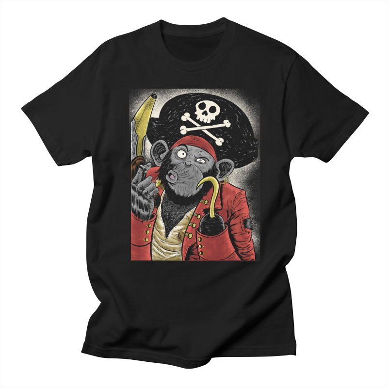 Captain Ook Ook Men's Regular T-Shirt by zakkinsella's Artist Shop