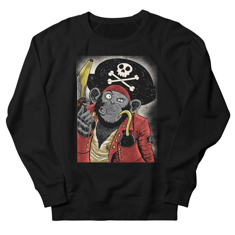Captain Ook Ook Men's French Terry Sweatshirt by zakkinsella's Artist Shop