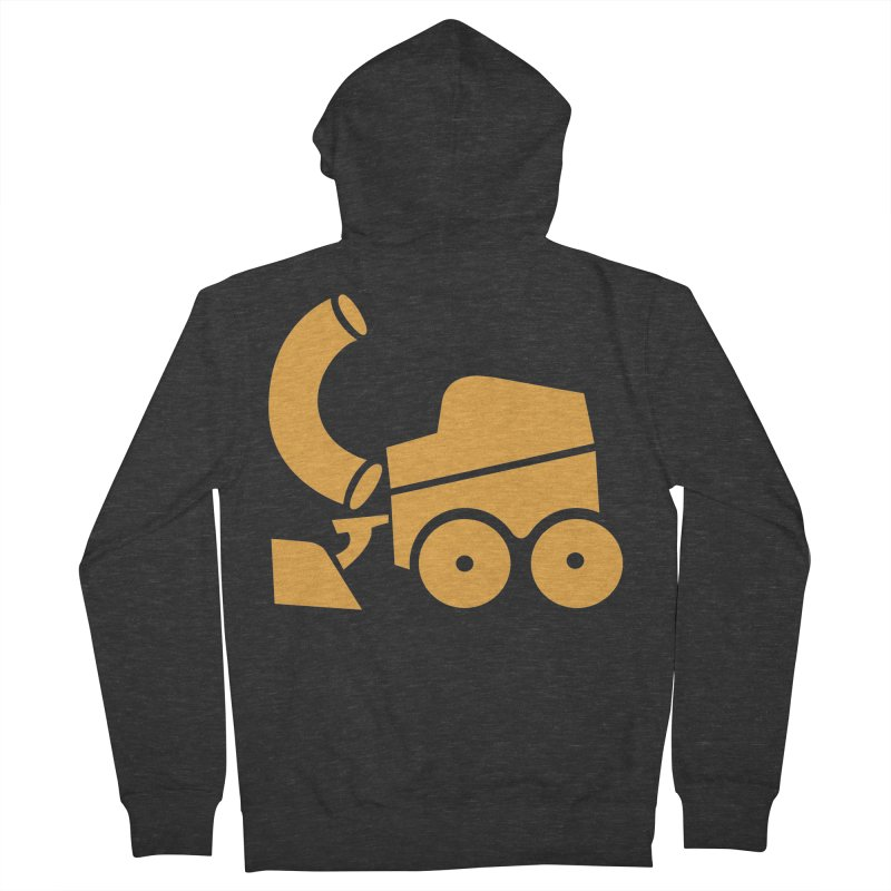 Zamboni Macaroni Logo Women's French Terry Zip-Up Hoody by Zamboni Macaroni Shop