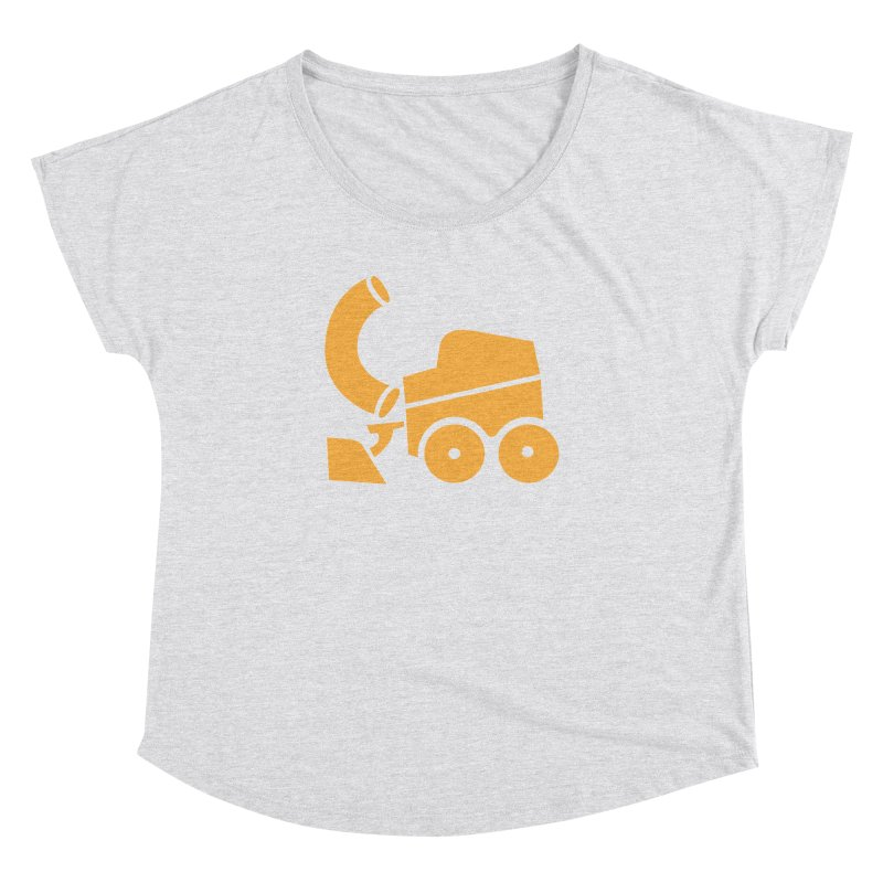 Zamboni Macaroni Logo Women's Dolman Scoop Neck by Zamboni Macaroni Shop