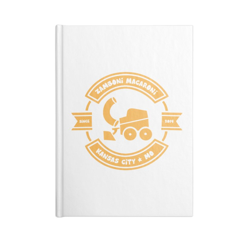 Kansas City Since 2014 Accessories Blank Journal Notebook by Zamboni Macaroni Shop