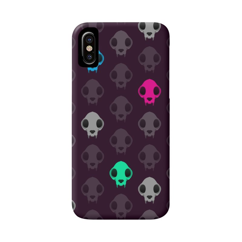 Felis Skullus Accessories Phone Case by Zammies