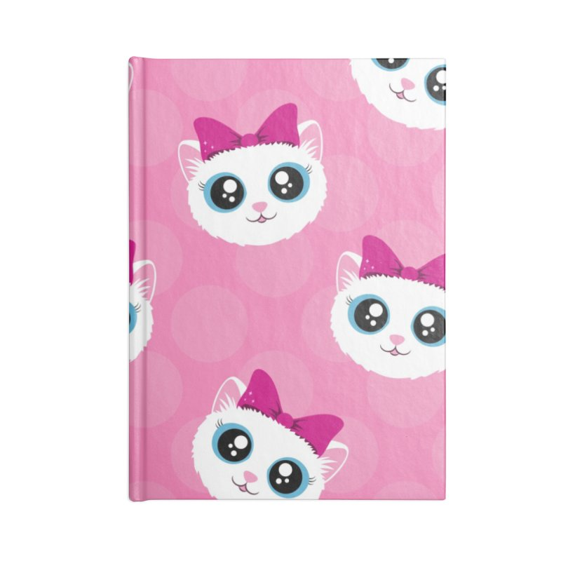 Kitty Girl Accessories Notebook by Zammies