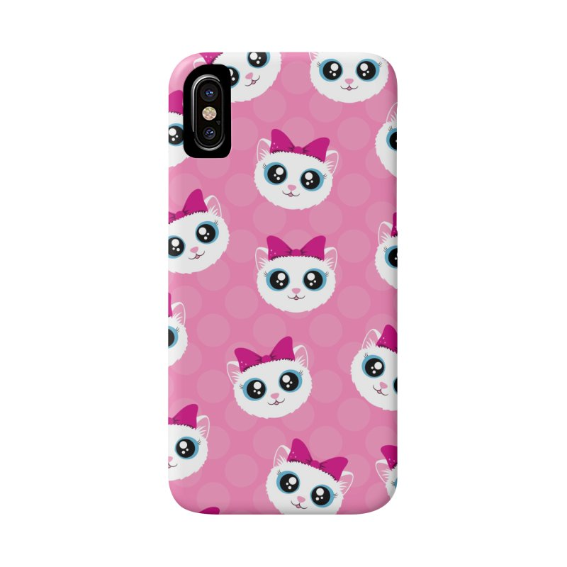 Kitty Girl Accessories Phone Case by Zammies