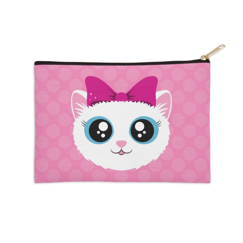 Kitty Girl Accessories Zip Pouch by Zammies