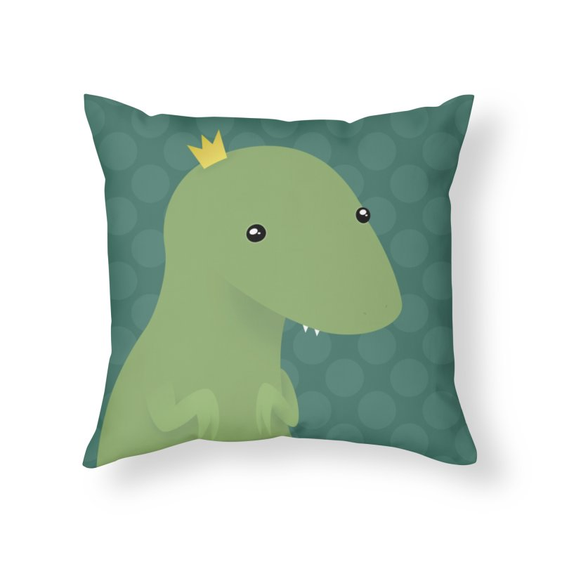 His Royal Highness Home Throw Pillow by Zammies