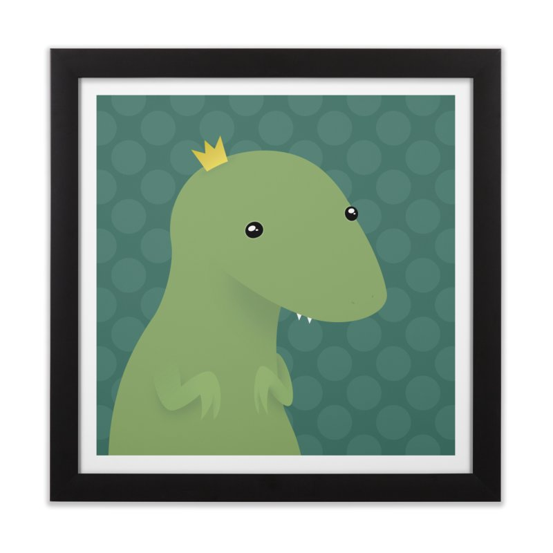 His Royal Highness Home Framed Fine Art Print by Zammies