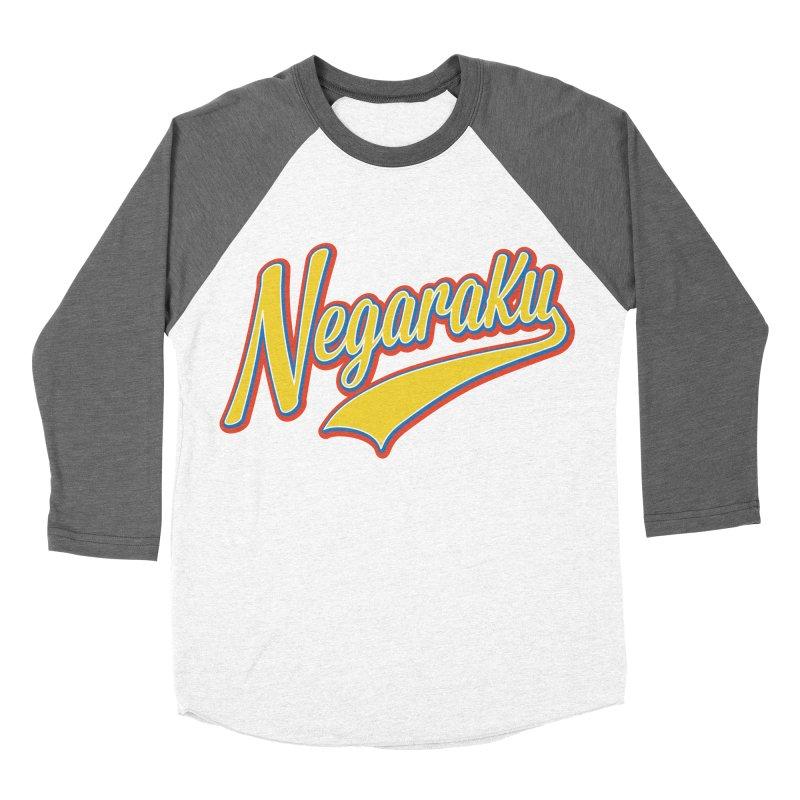 NegaraKu Men's Baseball Triblend Longsleeve T-Shirt by Zam Nayan's Shop