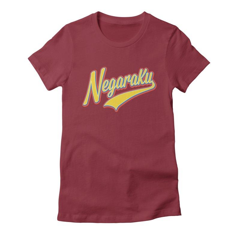 NegaraKu Women's Fitted T-Shirt by Zam Nayan's Shop