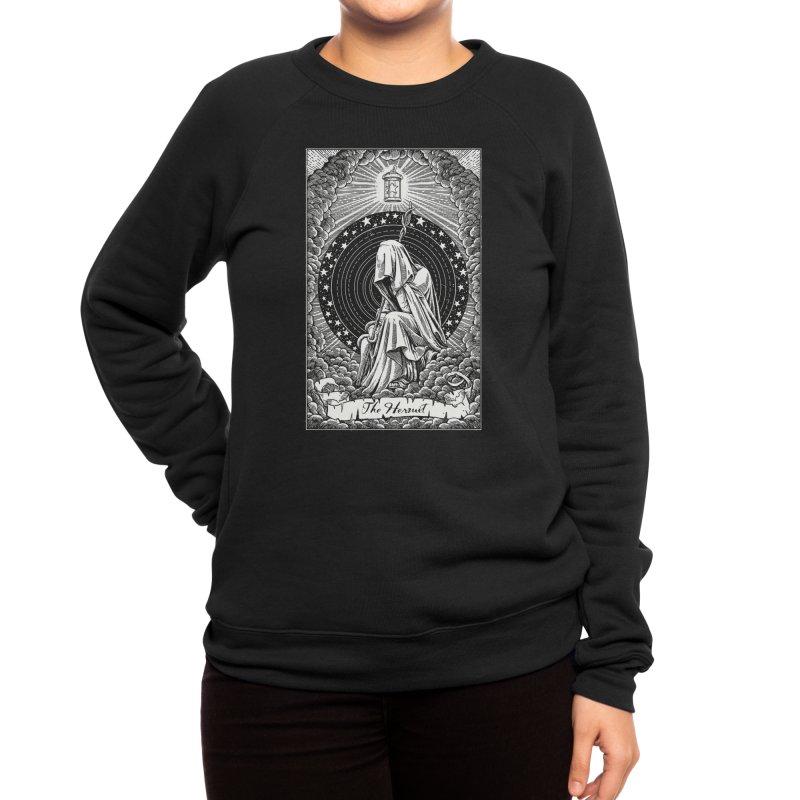 The Hermit Black Edition Women's Sweatshirt by Zann Tzu Art Shop