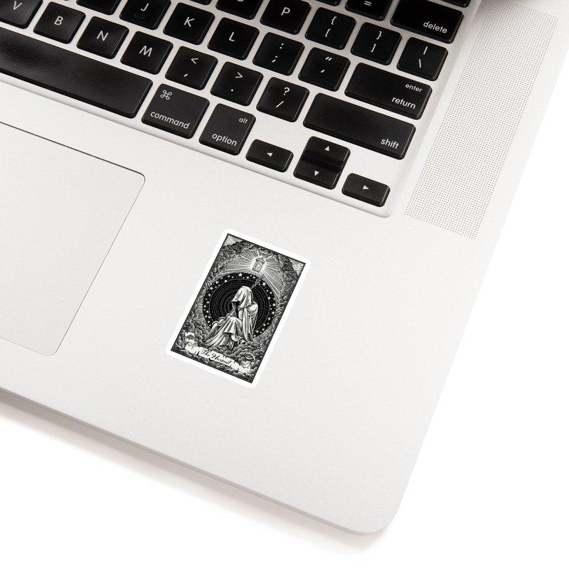 The Hermit Black Edition Accessories Sticker by artKillo Artist Shop