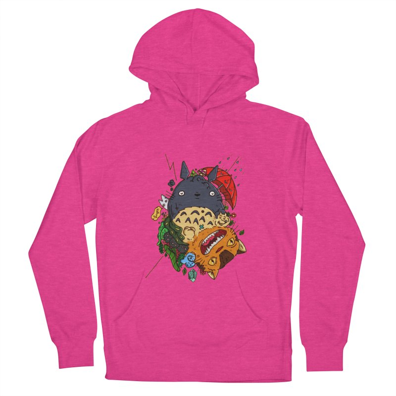 Totototoro 2.0 Women's French Terry Pullover Hoody by zapatoverde's Shop