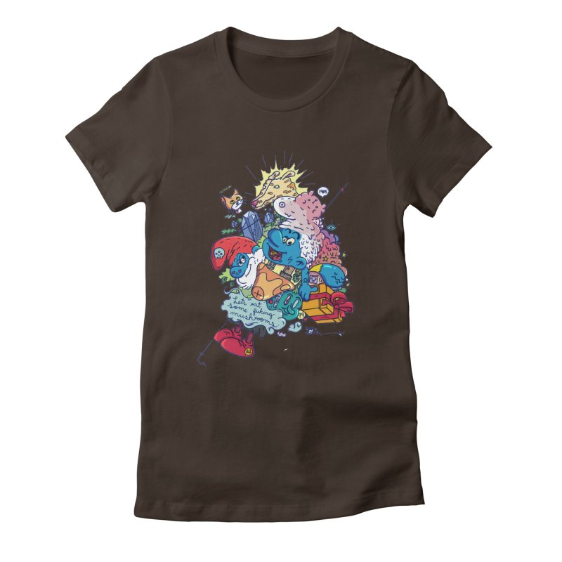 Smurfitufo Women's Fitted T-Shirt by zapatoverde's Shop