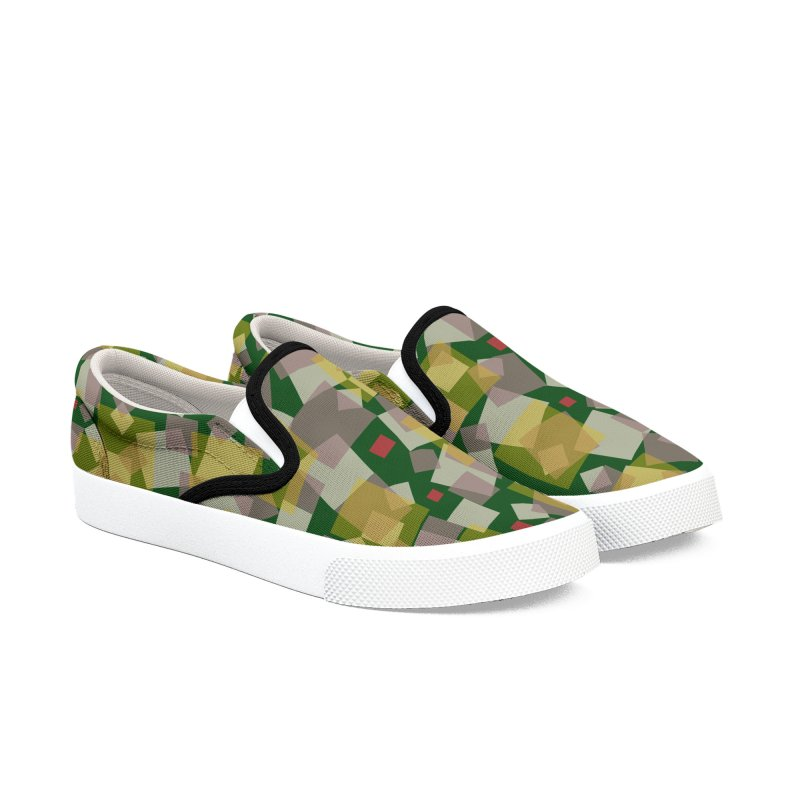 zappwaits - z002 Men's Slip-On Shoes by zappwaits Artist Shop