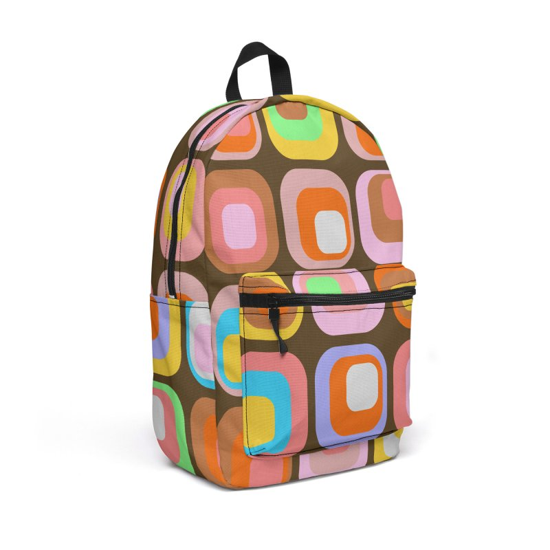 zappwaits - Retro Accessories Backpack Bag by zappwaits Artist Shop
