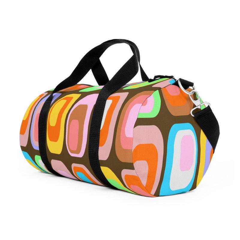 zappwaits - Retro Accessories Duffel Bag Bag by zappwaits Artist Shop