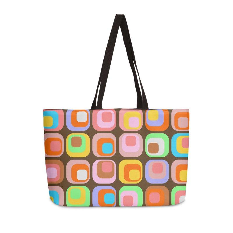 zappwaits - Retro Accessories Weekender Bag Bag by zappwaits Artist Shop