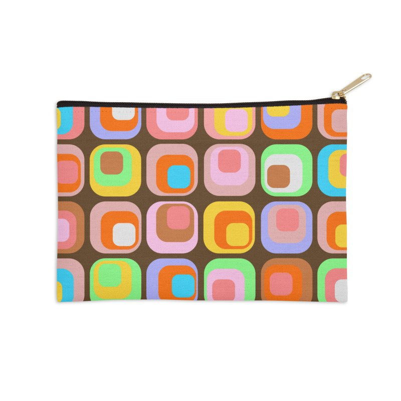 zappwaits - Retro Accessories Zip Pouch by zappwaits Artist Shop