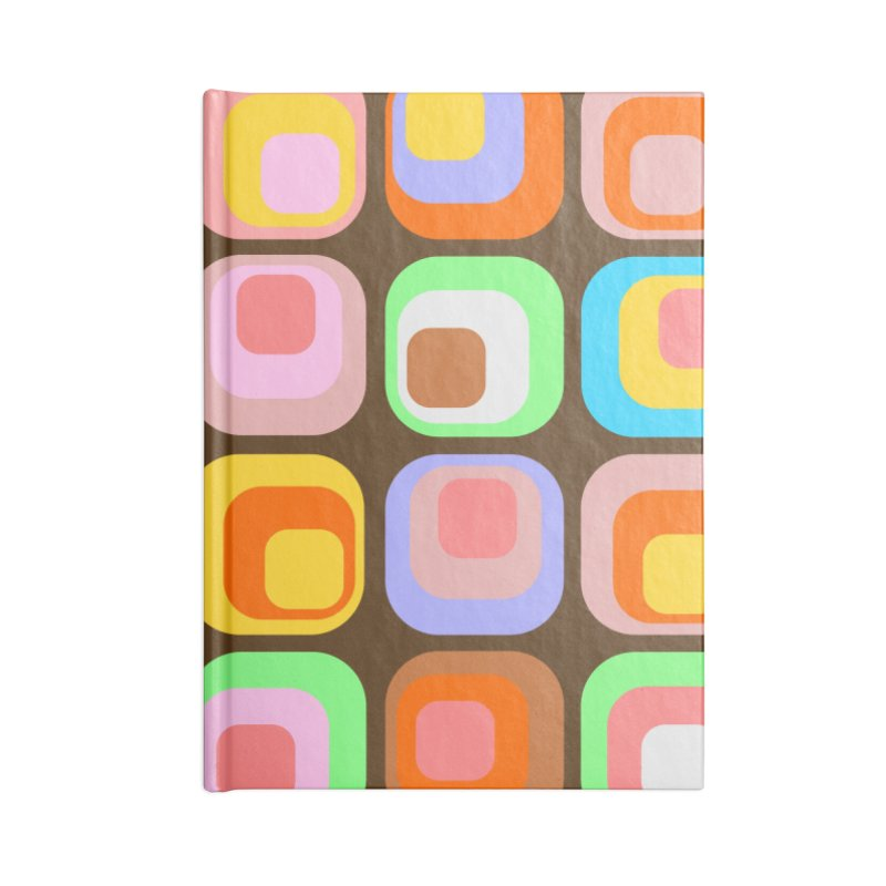 zappwaits - Retro Accessories Lined Journal Notebook by zappwaits Artist Shop