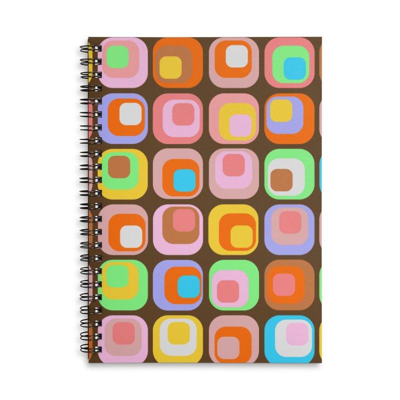 zappwaits - Retro Accessories Lined Spiral Notebook by zappwaits Artist Shop