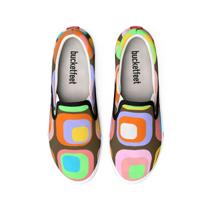 zappwaits - Retro Men's Shoes by zappwaits Artist Shop