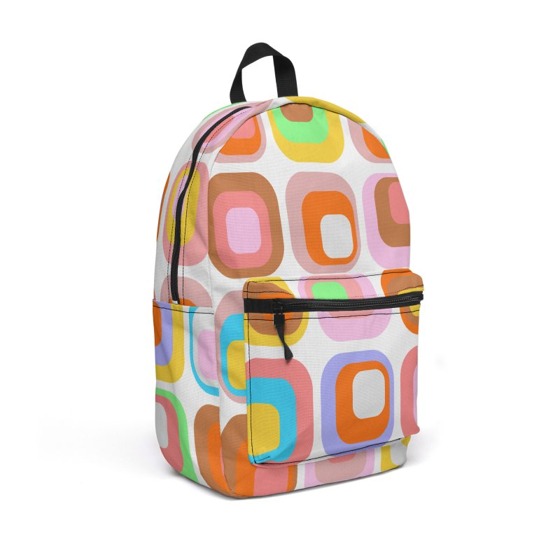 zappwaits retro 02 Accessories Backpack Bag by zappwaits Artist Shop