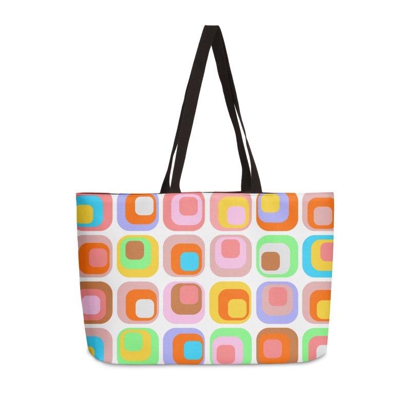 zappwaits retro 02 Accessories Weekender Bag Bag by zappwaits Artist Shop