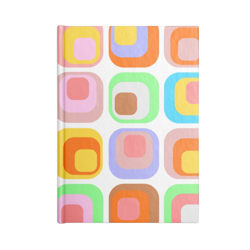 zappwaits retro 02 Accessories Blank Journal Notebook by zappwaits Artist Shop