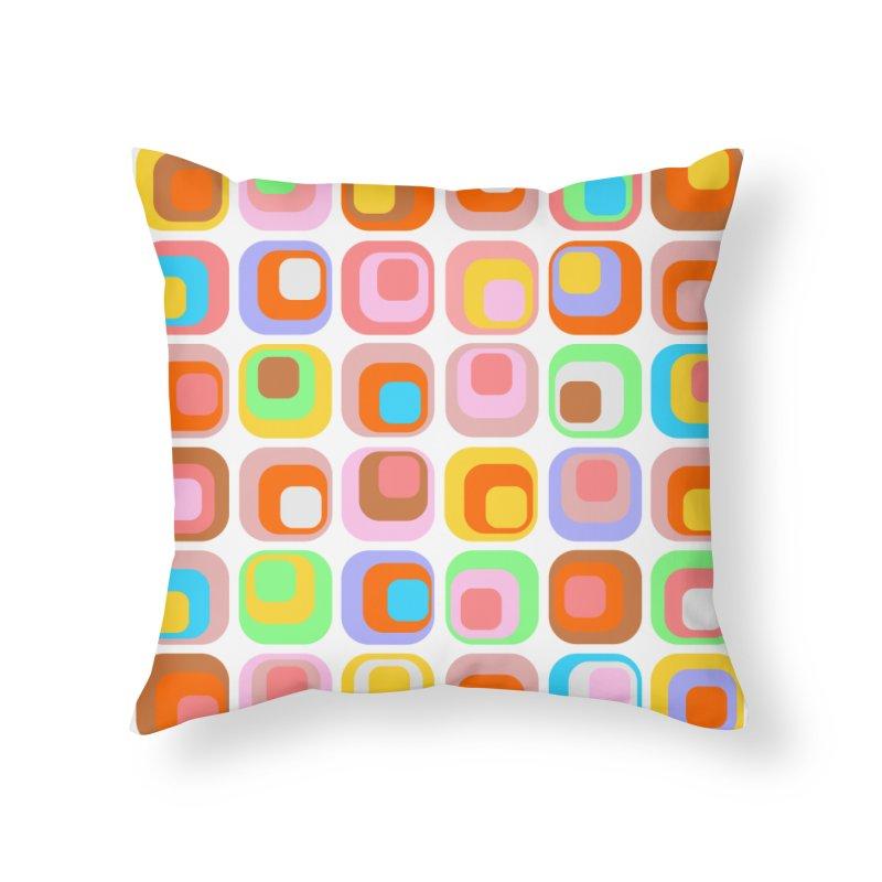 zappwaits retro 02 Home Throw Pillow by zappwaits Artist Shop