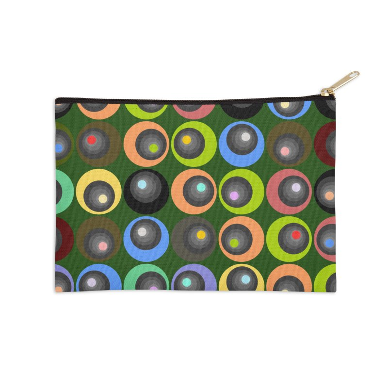 zappwaits 77 Accessories Zip Pouch by zappwaits Artist Shop