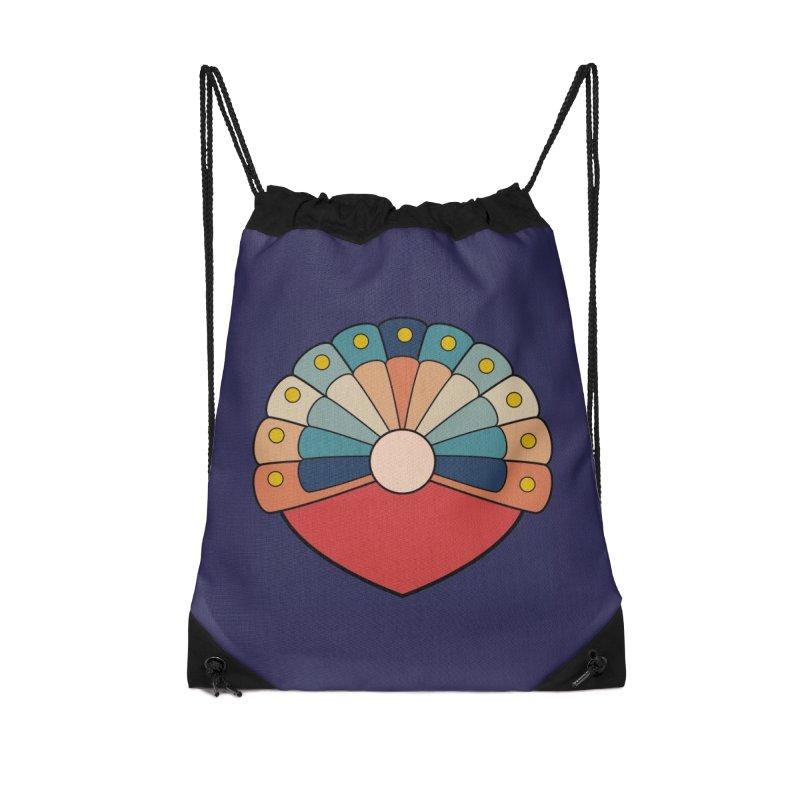 zappwaits - logo Accessories Drawstring Bag Bag by zappwaits Artist Shop