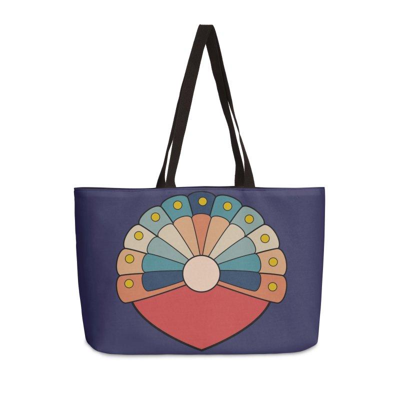 zappwaits - logo Accessories Weekender Bag Bag by zappwaits Artist Shop