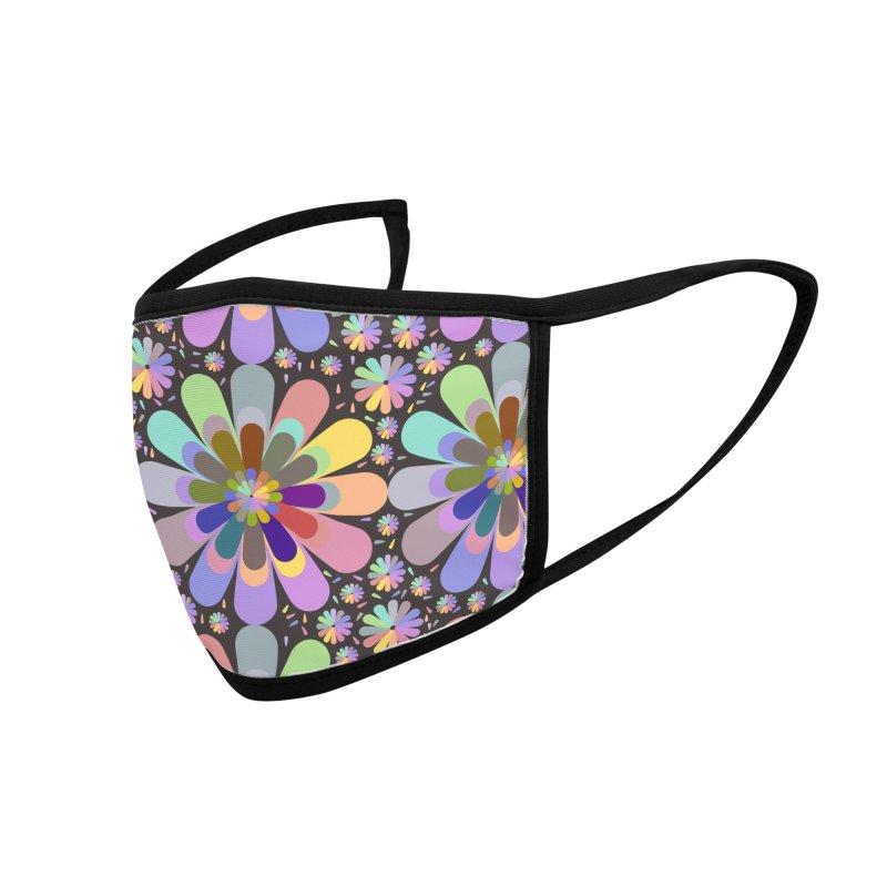 zappwaits flower power Accessories Face Mask by zappwaits Artist Shop