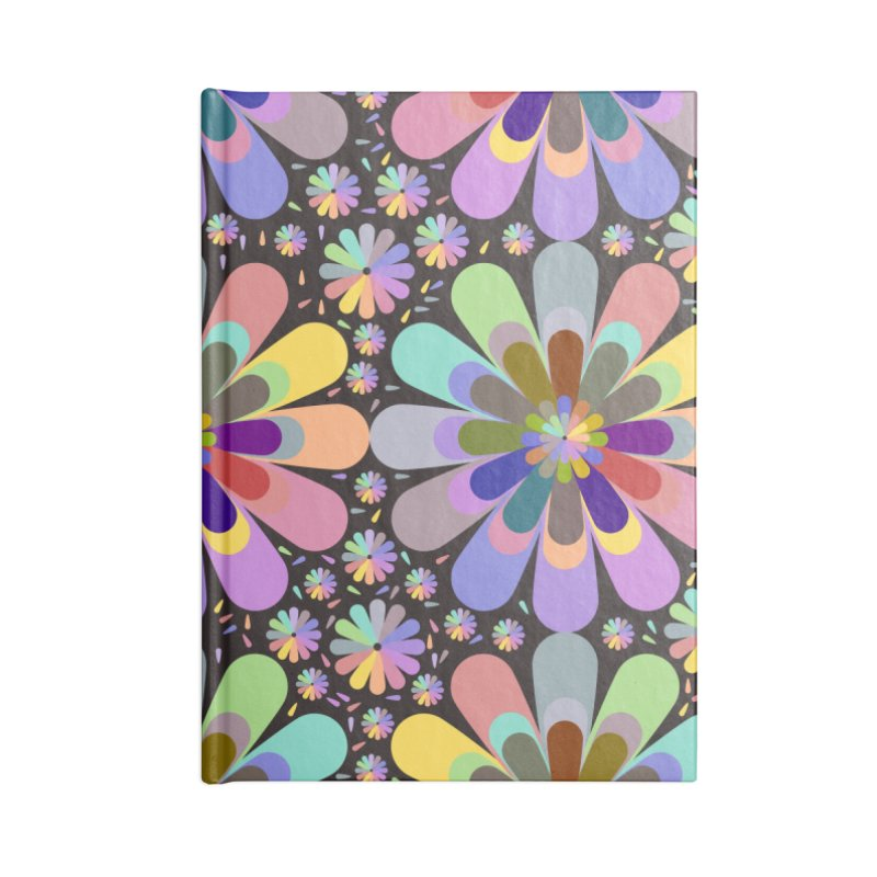 zappwaits flower power Accessories Notebook by zappwaits Artist Shop