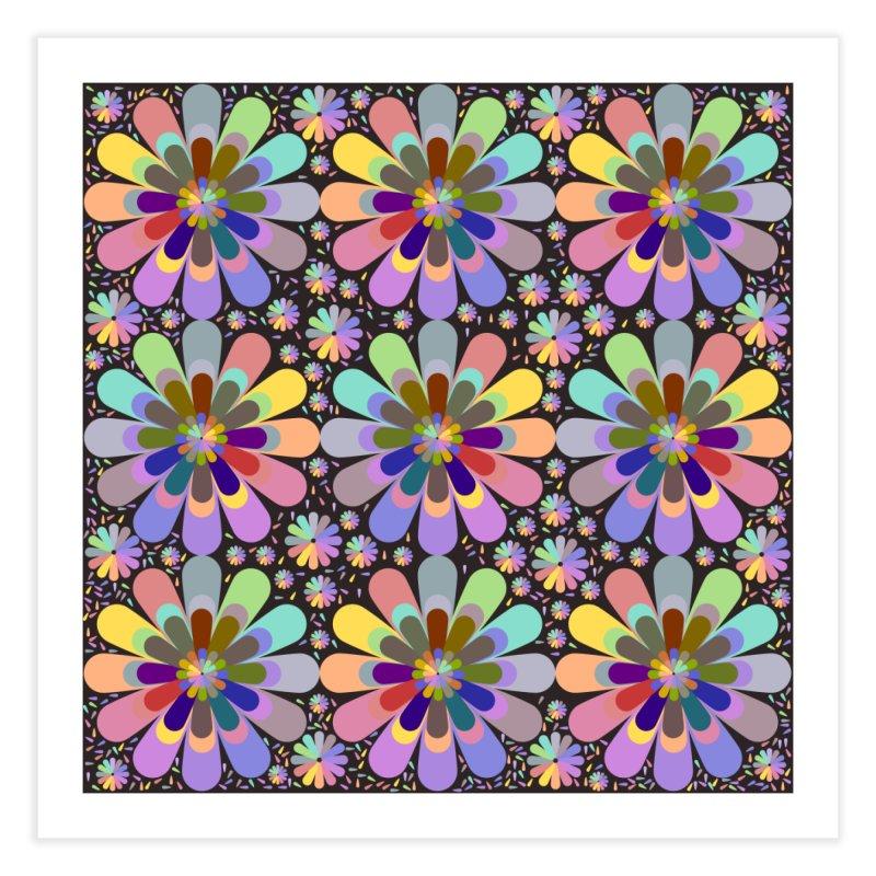 zappwaits flower power Home Fine Art Print by zappwaits Artist Shop