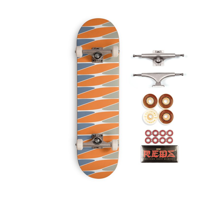 zappwaits pattern Accessories Skateboard by zappwaits Artist Shop