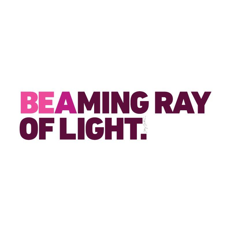 BEAming Ray of Light. Women's T-Shirt by Cary Zartman Originals