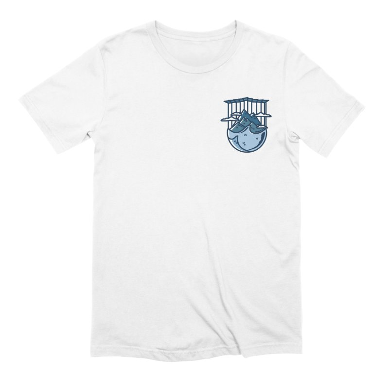 Rocky Mountain - Pids - Light in Men's Extra Soft T-Shirt White by zavatee's Artist Shop