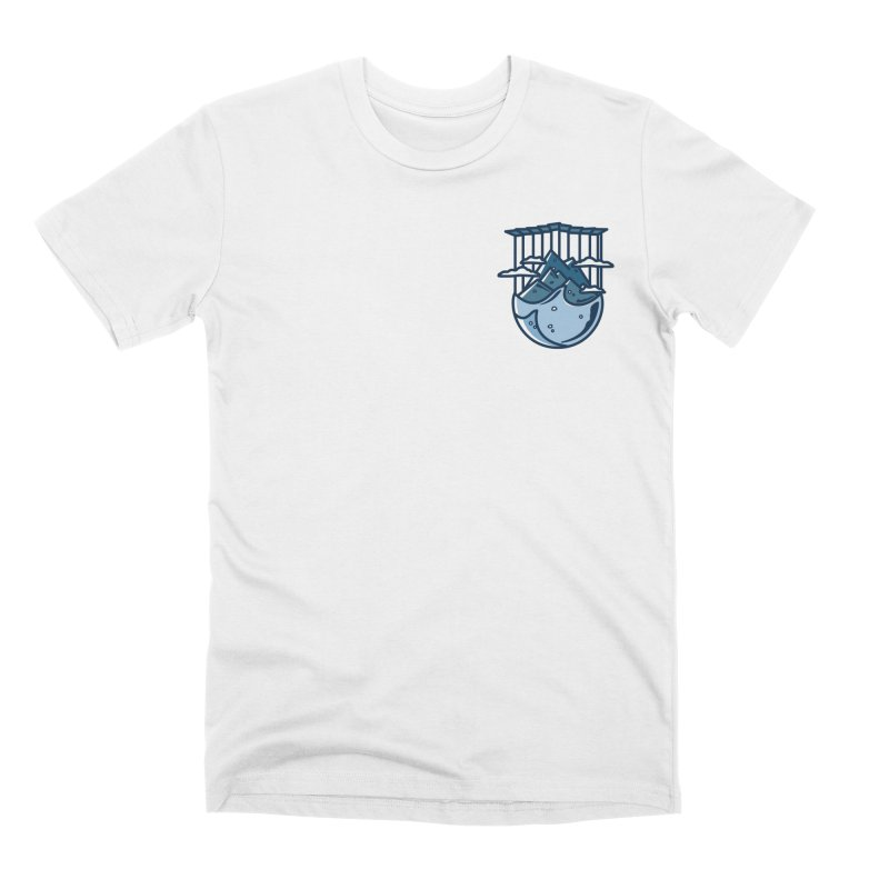 Rocky Mountain - Pids - Light Men's Premium T-Shirt by zavatee's Artist Shop