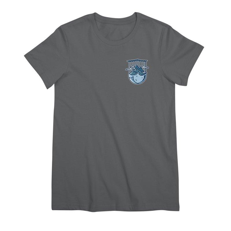 Rocky Mountain - Pids - Dark Women's Premium T-Shirt by zavatee's Artist Shop
