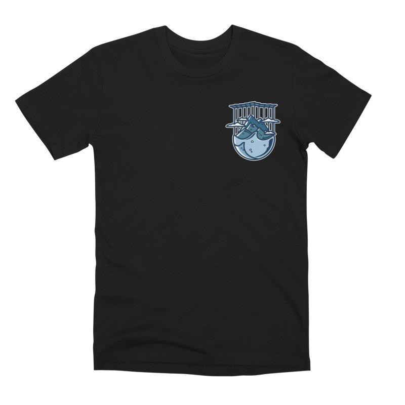 Rocky Mountain - Pids - Dark Men's Premium T-Shirt by zavatee's Artist Shop