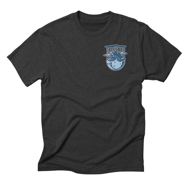 Rocky Mountain - Pids - Dark in Men's Triblend T-Shirt Heather Onyx by zavatee's Artist Shop