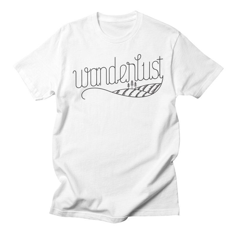 Wanderlust - Trees Men's T-Shirt by zavatee's Artist Shop