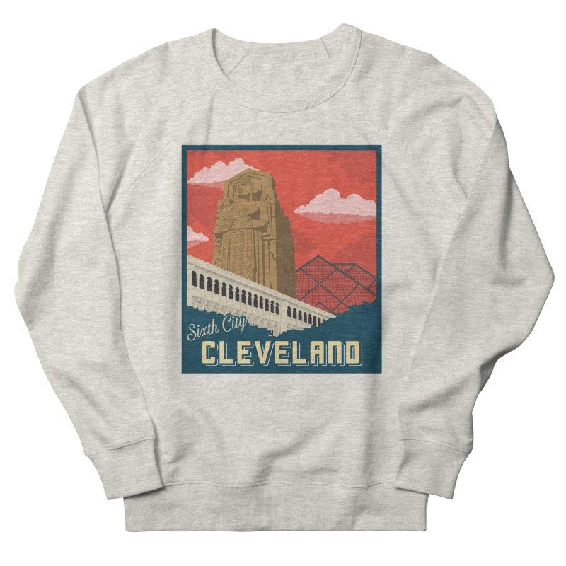 Vintage Cleveland Men's Sweatshirt by zavatee's Artist Shop